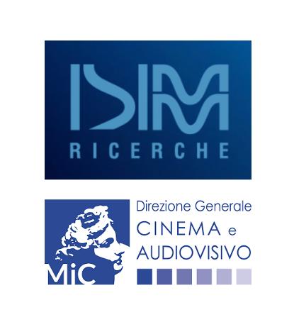 Logo ISIMM Ricerche e Direzione Generale Cinema e Audiovisivo